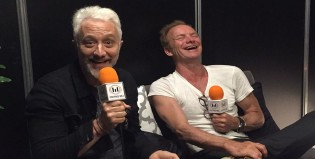 ¡Andy y Harry entrevistaron a Sting!