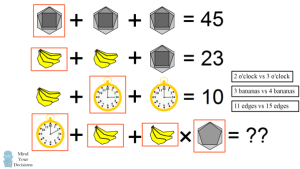 bananas-clock-hexagon-solution-spot-differences1