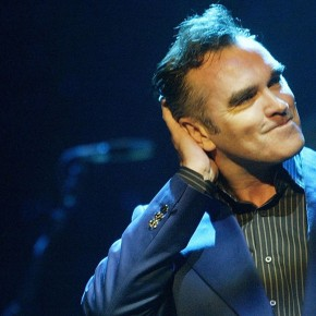 LOS ANGELES - APRIL 23:  Singer Morrissey performs April 23, 2004 at the Wiltern LG in Los Angeles, California. The former Smiths frontman sold out five consecutive nights in Los Angeles.  (Photo by Karl Walter/Getty Images)