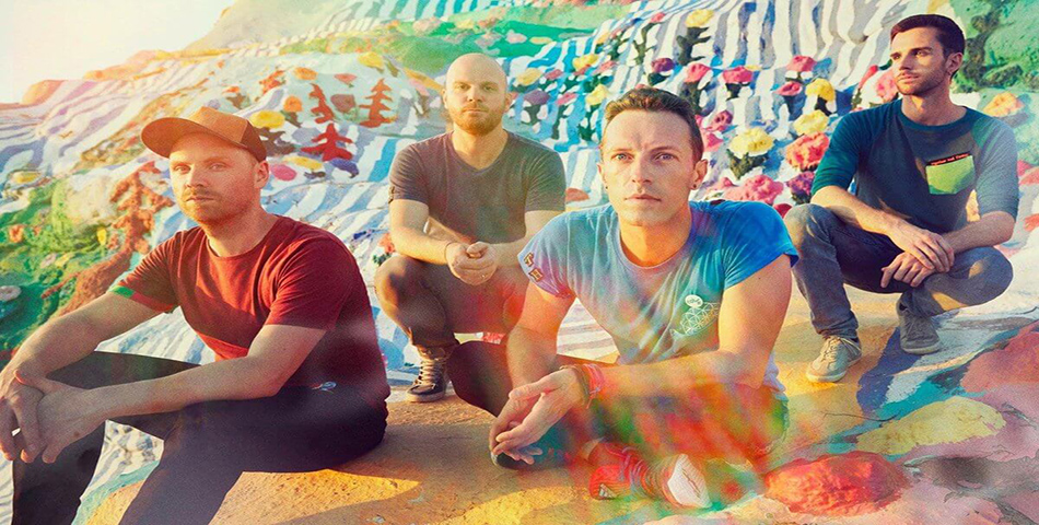 ¡Coldplay lanzó Kaleidoscope EP!