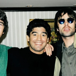 Liam Gallagher Maradona
