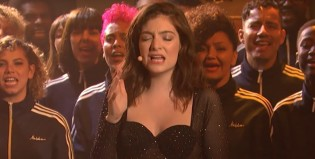 ¡Lorde la rompió en lo de Seth Meyers con Perfect Places!