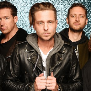 ROTTERDAM, NETHERLANDS - NOVEMBER 06:  (L-R) Eddie Fisher, Zach Filkins, Ryan Tedder, Brent Kutzle and Drew Brown of OneRepublic attend the MTV Europe Music Awards 2016 on November 6, 2016 in Rotterdam, Netherlands.  (Photo by Dave Hogan/MTV 2016/Getty Images)