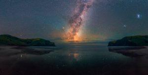 Nuestra galaxia vista desde Nueva Zelanda