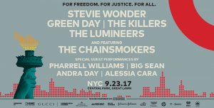 ¡Se confirmó el line-up del Global Citizen Festival en Nueva York!