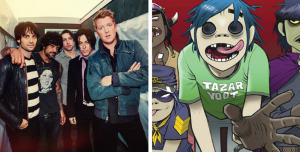 ¡Queens of the Stone Age cantó un tema de Gorillaz!