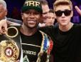 Justin Bieber - Floyd Meyweather