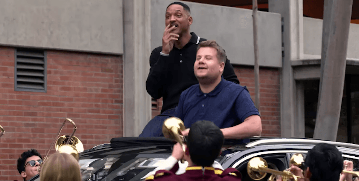 ¡Will Smith la rompe en el nuevo episodio del Carpool Karaoke de James Corden!