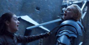 Mujeres guerreras: mirá cómo se hizo la batalla épica entre Arya Stark y Brienne de GOT