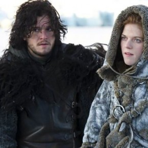 Game of Thrones - Kit Harington y Rose Leslie