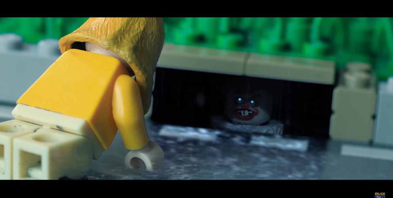 Terrorífico: la versión Lego de It es lo mejor que vas a ver en el día