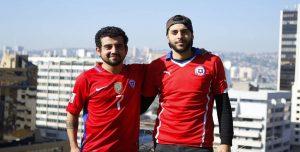Esta es la historia de dos chilenos que se dirigen caminando al Mundial de Rusia 2018