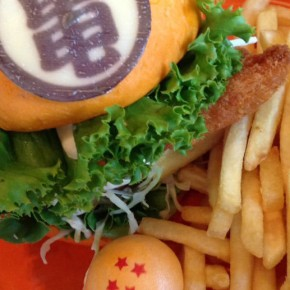 Dragon Ball Hamburguesa