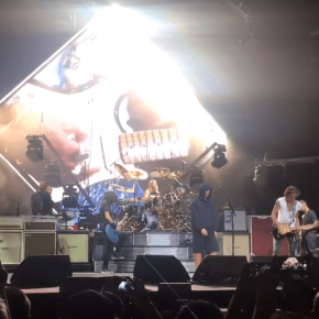 Foo-Fighters-Joe-Perry-and-Liam-Gallagher-performing-Come-Together