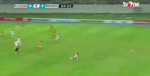 Increíble: un futbolista corrió más rápido que Bolt y metió un golazo