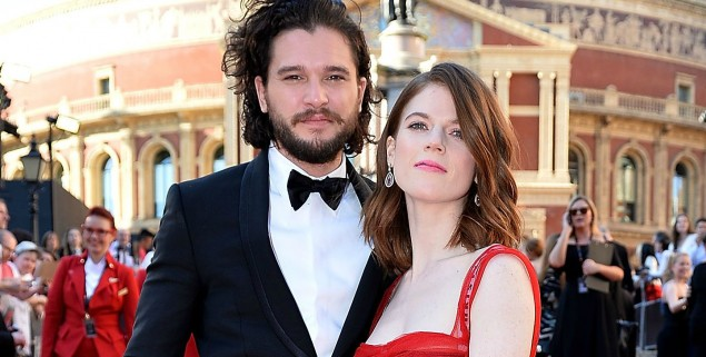 Kit Harington - Rose Leslie 2017