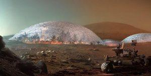 Así sería la ciudad marciana que quieren construir en Dubai