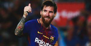 Increíble: Messi jugó mientras estaba en la tribuna