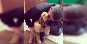 Conocé al perrito más mimoso del mundo