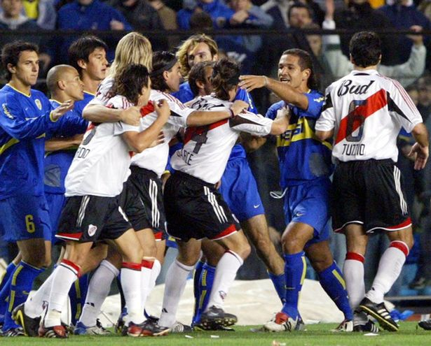 Players-of-Boca-Juniors-and-River-Plate