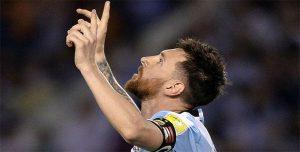 Messi presentó la camiseta con la que Argentina buscará conquistar el Mundial de Rusia 2018