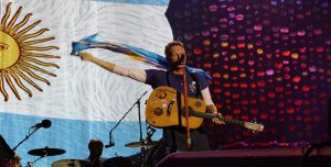 ¡Coldplay ya llegó a la Argentina y se prepara para cerrar 'A Head Full of Dreams'!