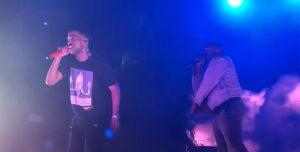 Kanye West volvió a los escenarios de la mano de Kid Cudi