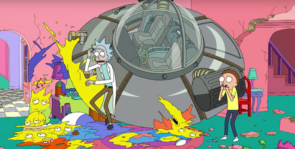 ¡Otro divertido guiño de Los Simpsons a Rick and Morty!