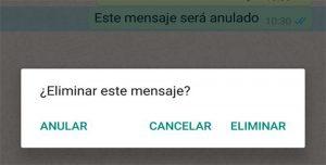 ¿7 minutos? Con este truco vas a poder eliminar los mensajes de Whatsapp cuando quieras