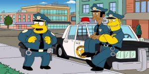 La policía británica arrestó a 21 delincuentes con un método sacado de Los Simpson