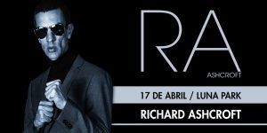 ¡Richard Ashcroft regresa a la Argentina!