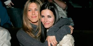 La reunión entre Jennifer Aniston y Courteney Cox