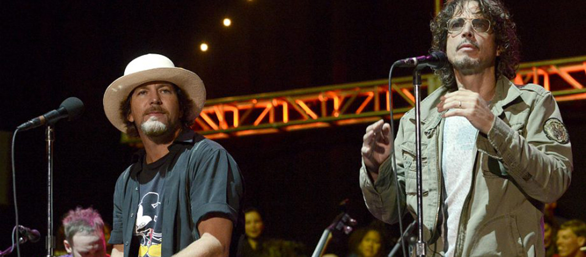 Pearl Jam homenajeó a Chris Cornell en Chile