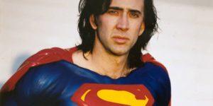 Nicolas Cage será Superman de una forma muy especial
