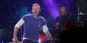 La nueva e imponente imagen de Will Champion, el baterista de Coldplay