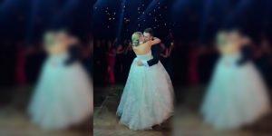 La boda que se convirtió en incendio