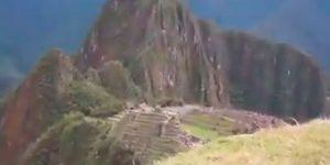 Paren todo: filmaron un OVNI en Machu Picchu