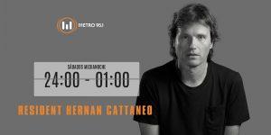 ¿Te perdiste el programa del sábado? ¡Escuchá acá 'Resident Hernan Cattaneo'!