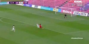 Una futbolista española hizo una de Messi
