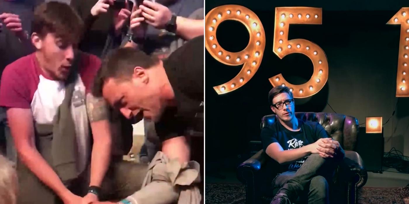 ¡Harry nos cuenta la historia del video viral del palillo de batería de Dead Cross!