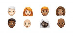 Los emojis se vuelven más inclusivos