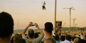 Un accidente durante un festival español dejó más de 300 heridos
