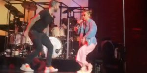 Millie Bobby Brown cantó junto a Maroon 5