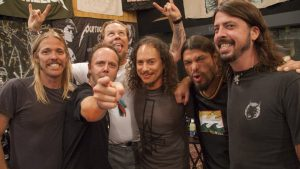Los Foo Fighters, una sorpresa en el show de Metallica