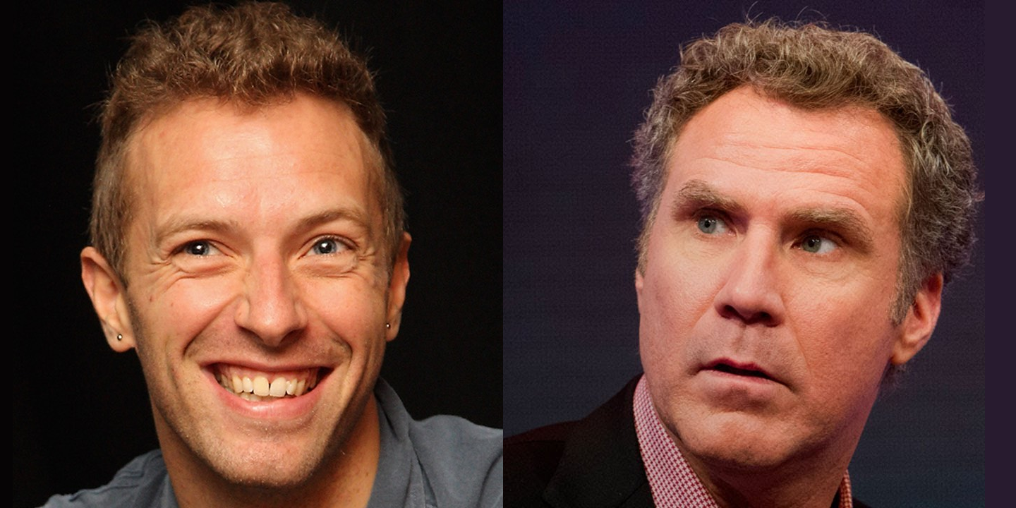 Chris Martin y Will Ferrell, juntos en vivo