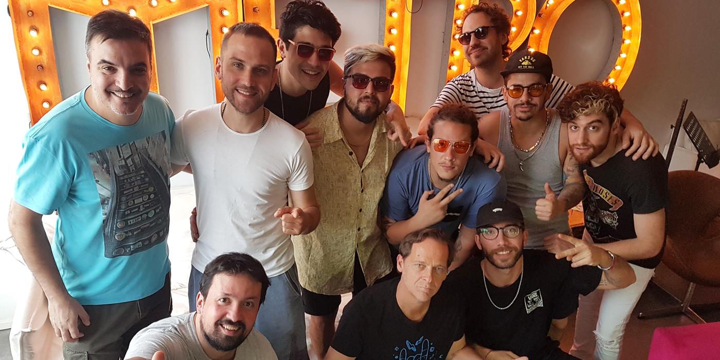 ¡Lo' Pibitos nos visitan antes del #BastaMusicFestival!