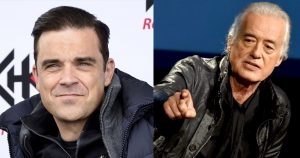 Robbie Williams VS. Jimmy Page – punto para el pop