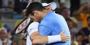 El emotivo mensaje de Del Potro para Andy Murray luego de que anunciara su retiro