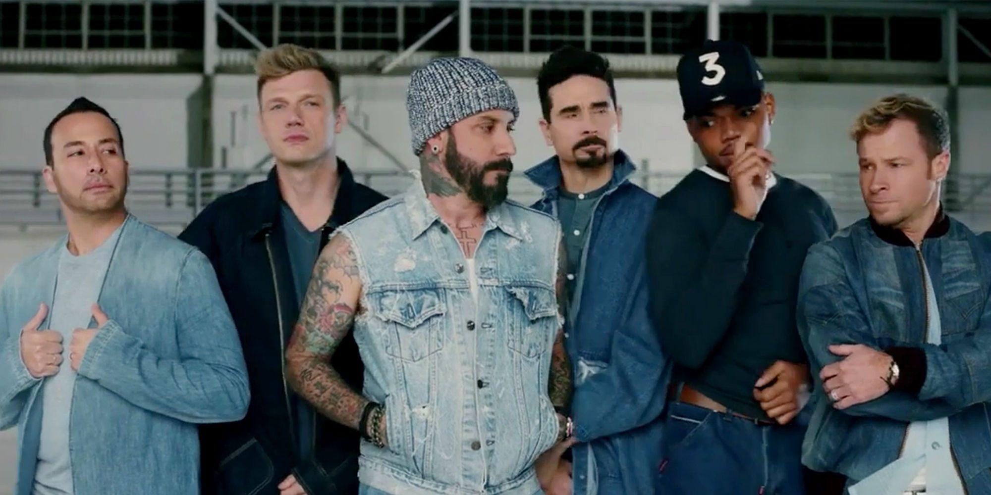 Los Backstreet Boys sorprendieron en un nuevo clip (¡y hay un sexto!)