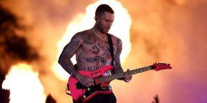 Super Bowl: El decepcionante show que protagonizó Maroon 5